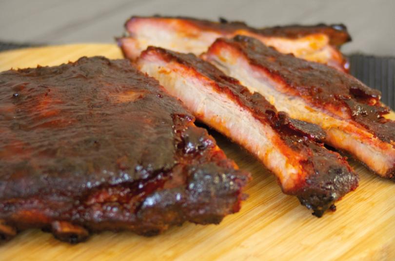 Kansas city style ribs